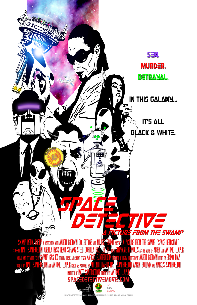 Swamp Media Group discusses release of Space Detective film part one