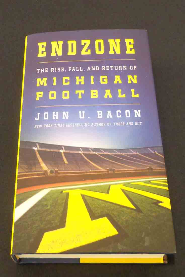 """""""When you're selling Michigan Football, you're selling one of the most fundamental things humans have to offer,"""" said Mr. Bacon discussing his latest book."""