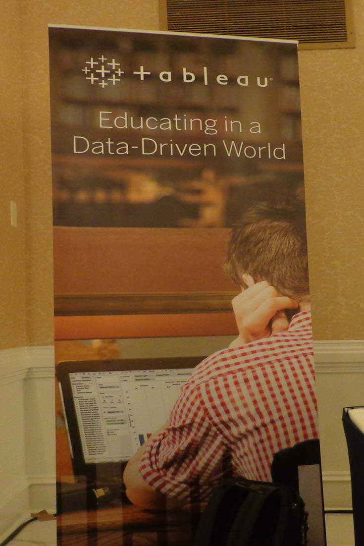 """On June 9, 2016 Tableau hosted a symposium in Washington DC titled; """"Educating in a Data Driven World""""."""