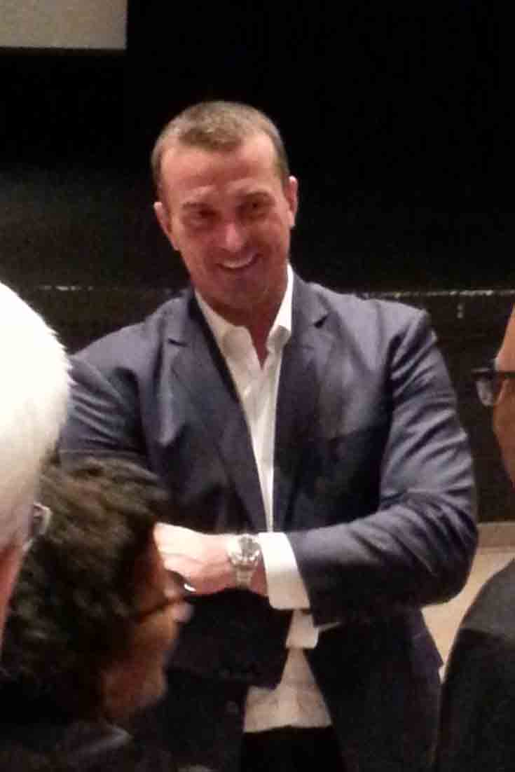 On Oct. 2, 2017 Chris Herren visited Northern Virginia to talk about his basketball journey and his lifelong struggle with drug addiction and substance abuse.