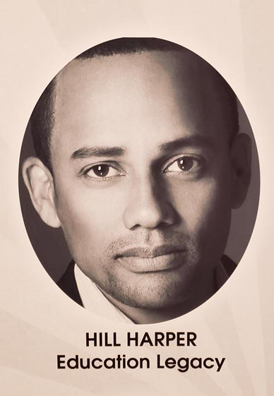 """Late in 2015, I was approached with an opportunity to conduct an interview with Hill Harper regarding his collaboration with the National Honor Society and its """"Honor Your Future Now"""" campaign."""